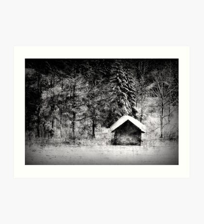 Another hut at the lake Art Print