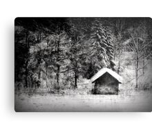 Another hut at the lake Metal Print