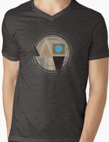 Geometric/A. 01 Mens V-Neck T-Shirt