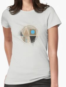 Geometric/A. 01 Womens Fitted T-Shirt