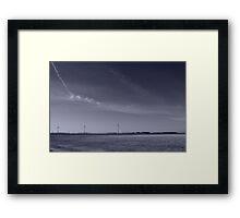 Winter on the Prairies Framed Print