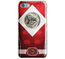 RedRanger 3 iPhone Case/Skin
