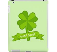 Clover for Patrick day iPad Case/Skin