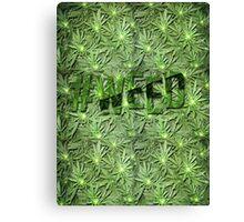 #WEED Canvas Print