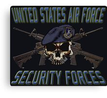 USAF Security Forces Canvas Print