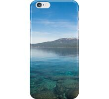 Lake Tahoe Calm iPhone Case/Skin