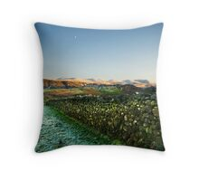 Helvellyn from Keswick Throw Pillow