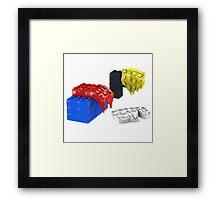 Dali Toy Bricks Framed Print
