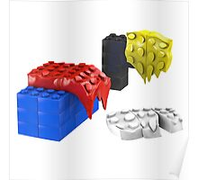 Dali Toy Bricks Poster