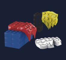 Dali Toy Bricks by Christopher Watson