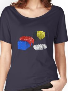 Dali Toy Bricks Women's Relaxed Fit T-Shirt