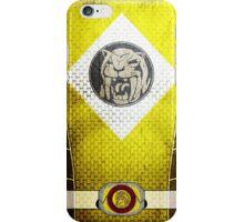 YellowRanger 4  iPhone Case/Skin