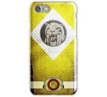 YellowRanger 4  iPhone Case/Skin
