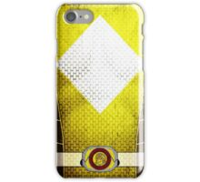 YellowRanger 3 iPhone Case/Skin