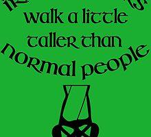 Irish Dancers Walk A Little Taller by emyme987