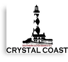 Crystal Coast - North Carolina. Canvas Print