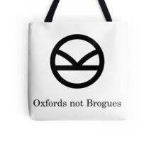 Kingsman Secret Service - Oxfords not Brogues Black Tote Bag
