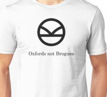 Kingsman Secret Service - Oxfords not Brogues Black Unisex T-Shirt