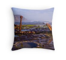 Anchors At Rest Throw Pillow