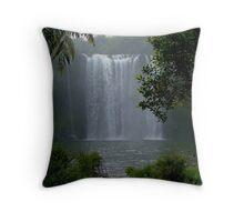 Rainbow Falls,  Kerikeri, New Zealand Throw Pillow