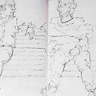 Netherlands Sketchbook, Gemeente Museum by Cameron Hampton