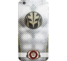WhiteRanger5 iPhone Case/Skin