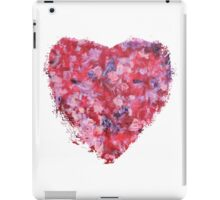 Wild and Unruly - Abstract Heart iPad Case/Skin
