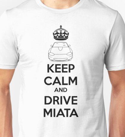 Keep Calm And Drive Miata NB Unisex T-Shirt