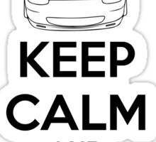 Keep Calm And Drive Miata NB Sticker