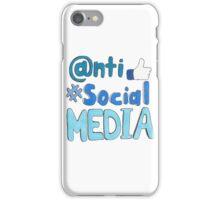 Anti-Social Media  iPhone Case/Skin