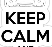 Keep Calm And Drive Miata NC Sticker