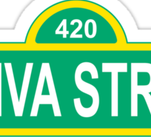 Sativa Street Sticker