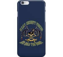 Security Forces Carpe Noctum iPhone Case/Skin