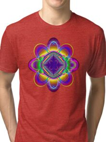 The rainbow flower Tri-blend T-Shirt