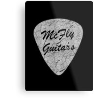 McFly Guitar's Metal Print