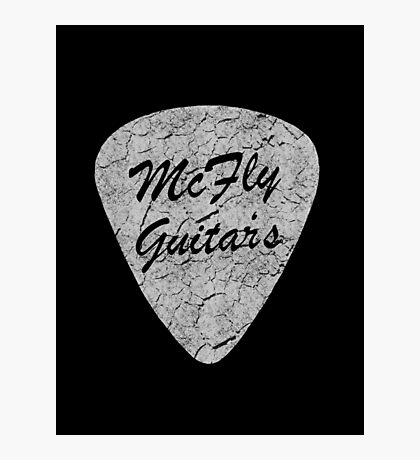 McFly Guitar's Photographic Print