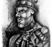 Portrait of a Man with a Big Chin. by nawroski .