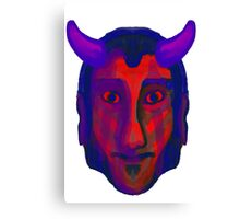 Devil/Demon Head - Available in variety of Products Canvas Print