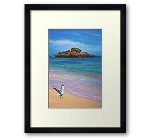 Just South of Perth Framed Print