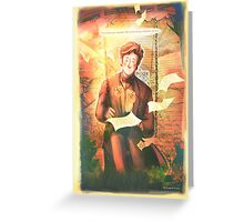A Strange, Dear man - [Doctor Who] Greeting Card