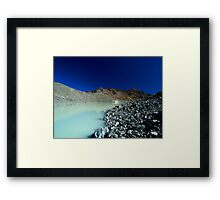 Arsine lake Framed Print