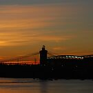Sunset On The Ohio by Mary Carol Story