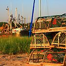 Lobster Traps by capecodart