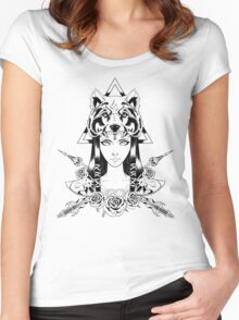 Princess of Hyrule (v2) Women's Fitted Scoop T-Shirt