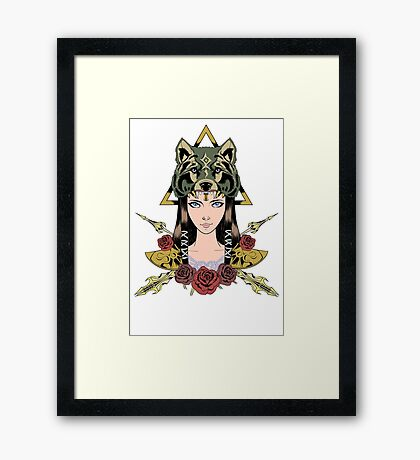 Princess of Hyrule  Framed Print