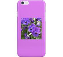 Purple Petunias in Galway iPhone Case/Skin