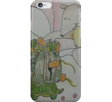 Aswald The Anteater At The Fruit Grove iPhone Case/Skin