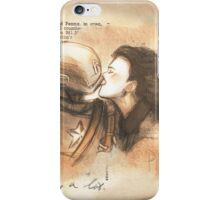 Carter and Rogers iPhone Case/Skin