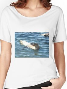 Seal pup relaxing Women's Relaxed Fit T-Shirt