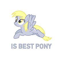 Derpy Is Best Pony - MLP FiM - Brony Photographic Print
